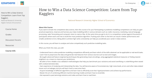 free courses in data science | Cognitive Coder