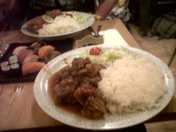 misato chicken teriaki rice