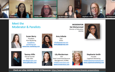 AAHOA Webinar: Getting Back to Business: Tangible, Tactical Business Generation Ideas for Hotels