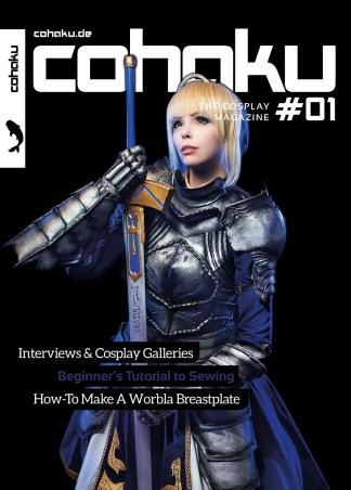 Cohaku #01 - The Cosplay Magazine - Cover