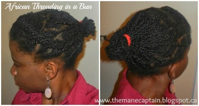 Mini African Threading in 3 Styles