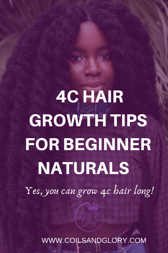 Five 4c Natural Hair Growth Tips For Beginner Naturals