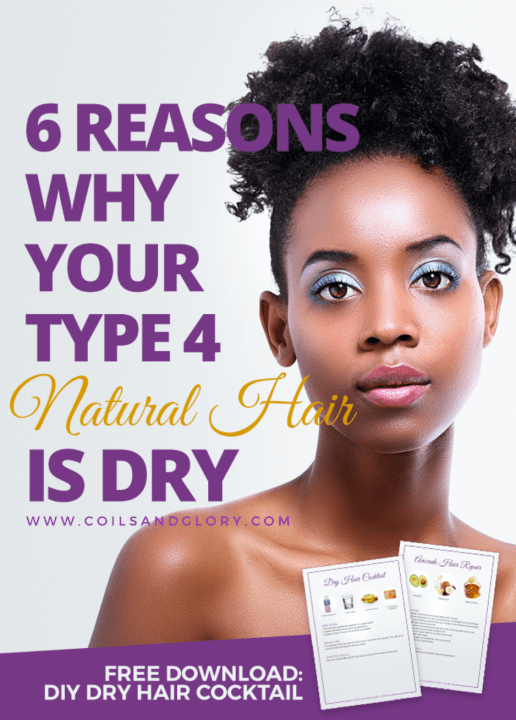 6 reasons natural hair is dry