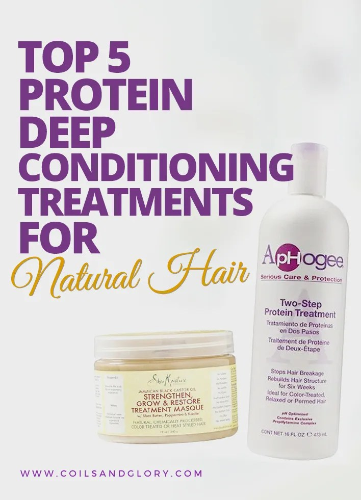 Top 5 Natural Hair Protein Treatments