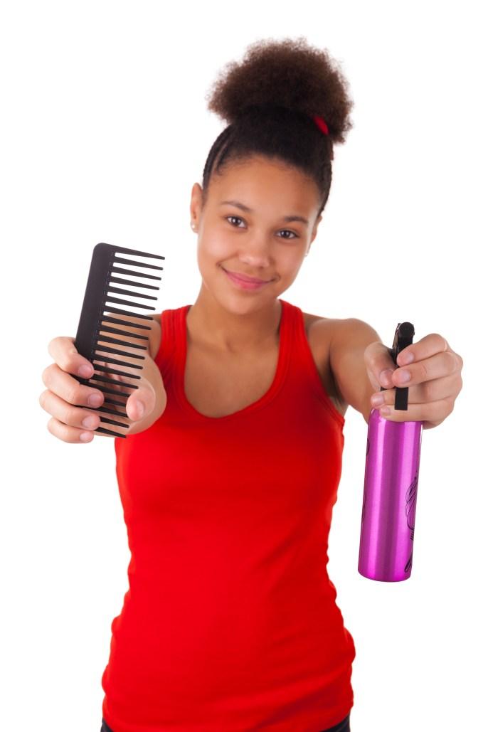Five Reasons You Shouldn't Comb Natural Hair Often