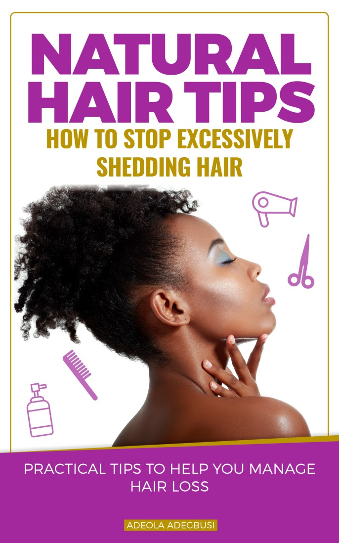 How to Stop Excessively Shedding Natural Hair
