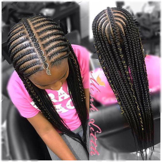 10 Cute Back to School Natural Hairstyles for Black Kids ...