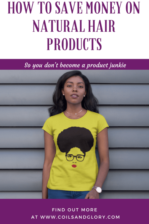 save money on natural hair products