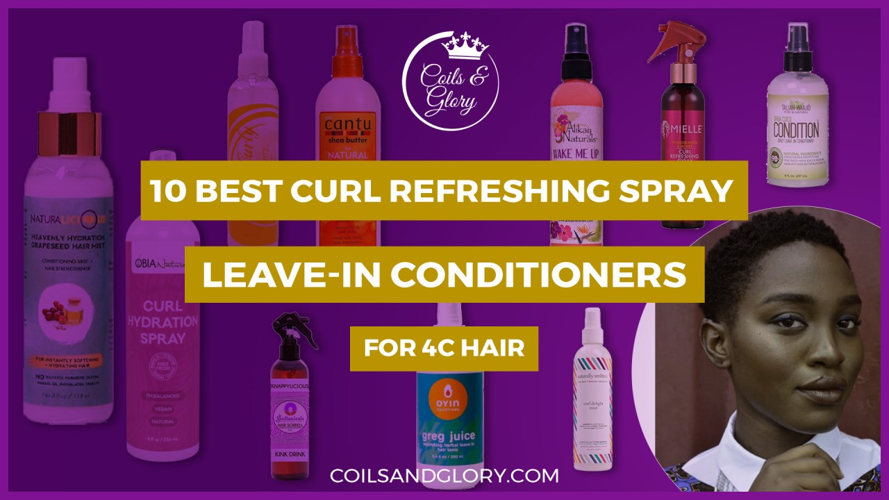 natural hair curl refresher
