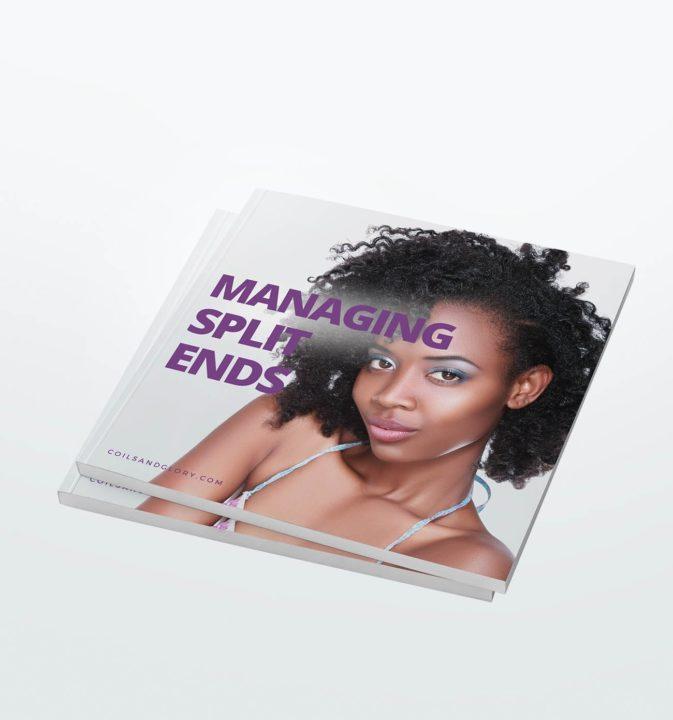 natural hair split ends ebook