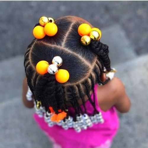 easy hairstyles for black girls
