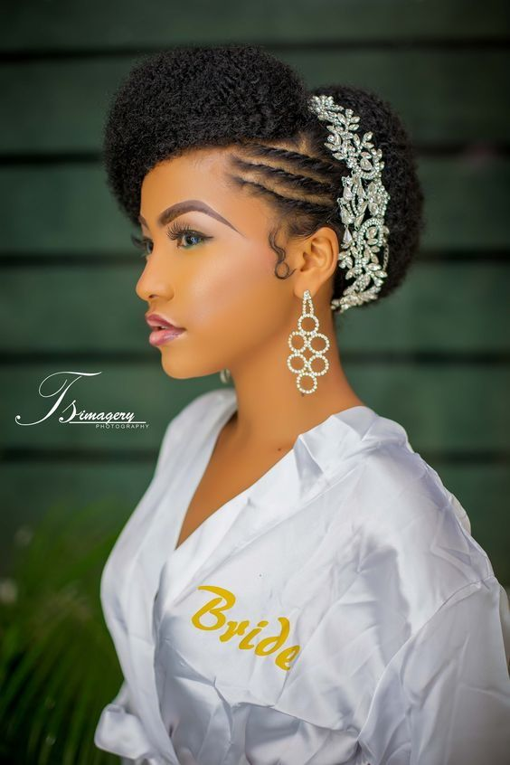 30 Beautiful Wedding Hairstyles For African American Brides ...