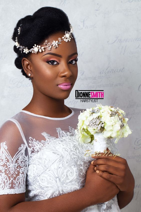 30 Beautiful Wedding Hairstyles For African American Brides Coils And Glory