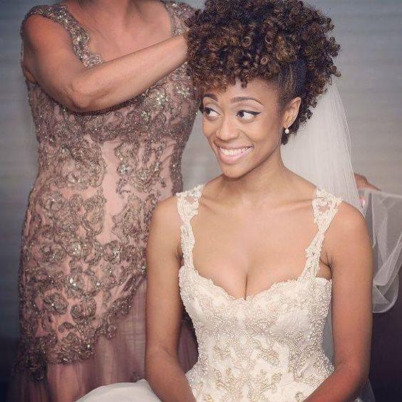 bridal hairstyles for natural hair