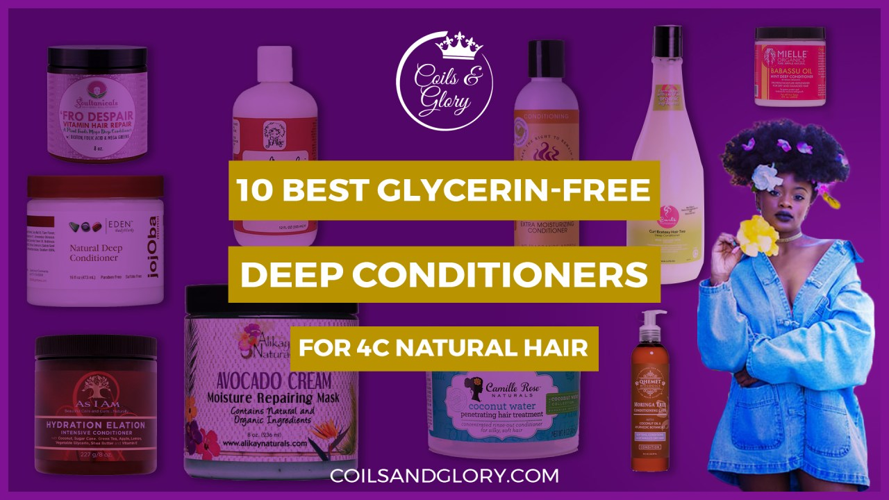 glycerin free conditioner for natural hair