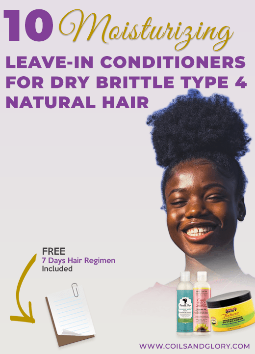 best leave in conditioner for 4c hair