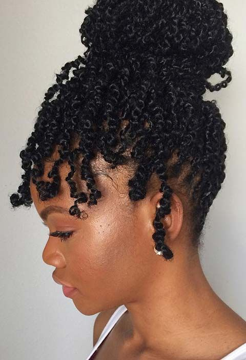 passion twist hairstyle