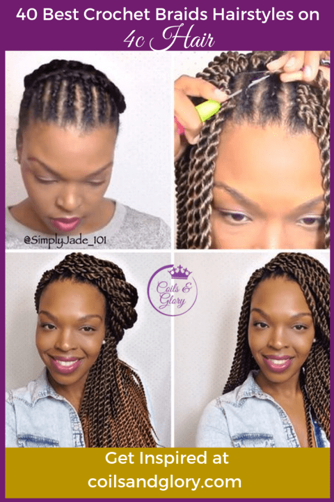 crochet braids hairstyles on natural hair