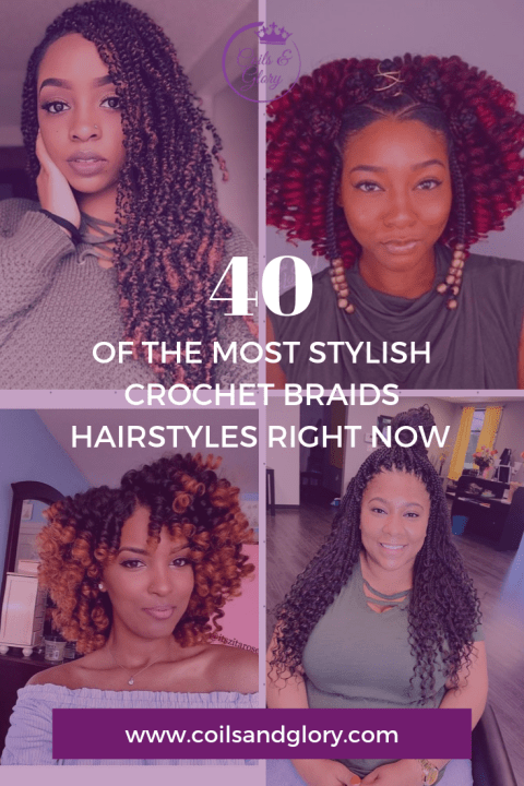 crochet braids styles on natural hair