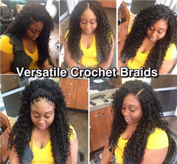 Crochet Braid Hairstyles on african american hair