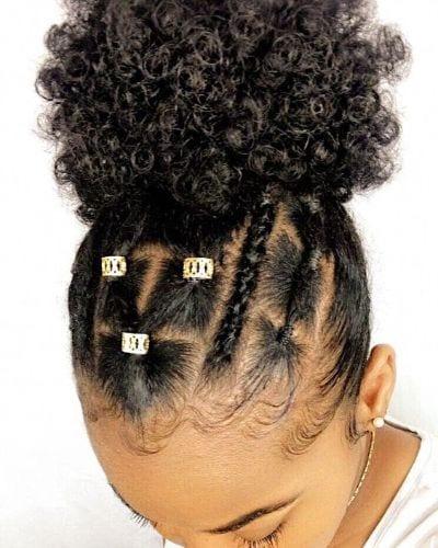 rubber band hair tutorial
