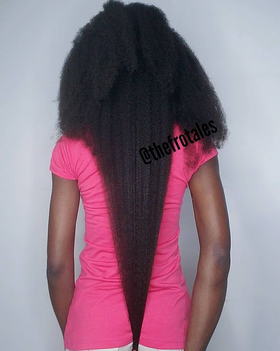 stretch natural hair without heat