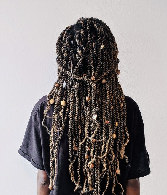 How long should you keep Marley twists in?