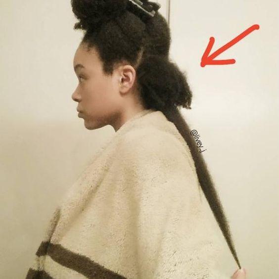 4a natural hair shrinkage