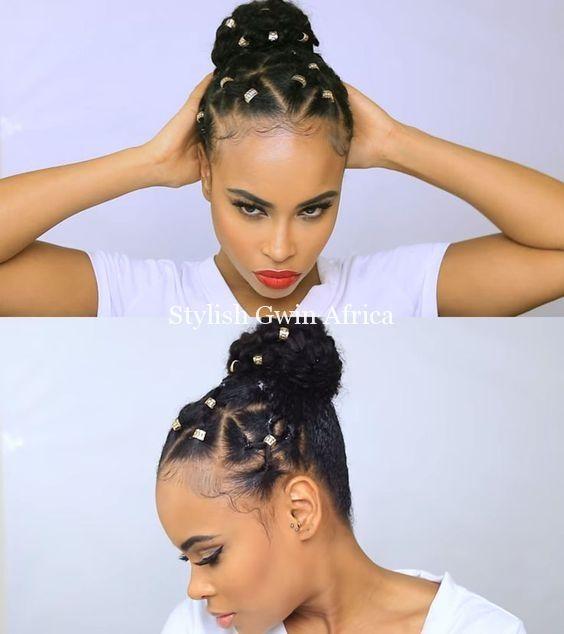 rubber band twist natural hair