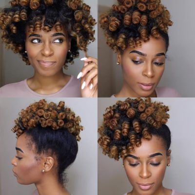 perm rods hairstyles for short hair