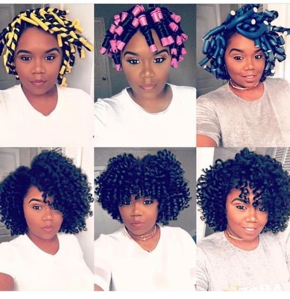 perm rods set for natural hair