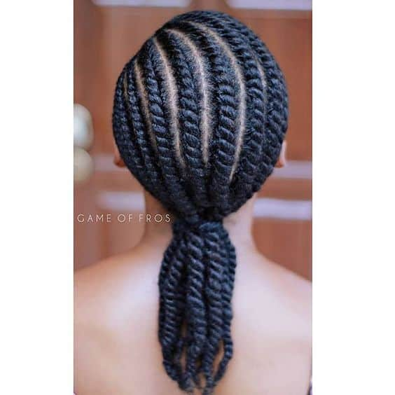 flat twists game of fros