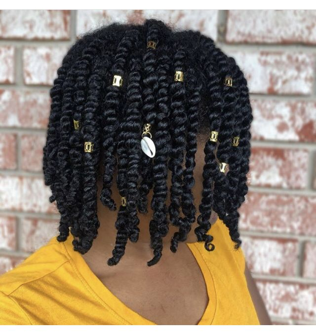 Two strand twist on 3c hair
