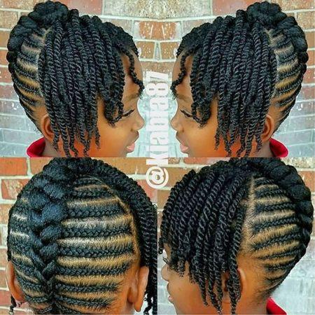 images of little black girl braids
