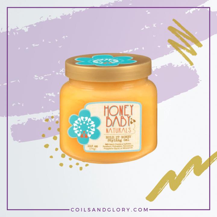 Honey Baby Naturals Hold It Honey Styling Gel
