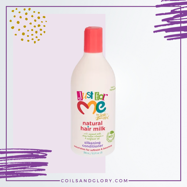 Just For Me Natural Hair Milk Silkening Conditioner for kids