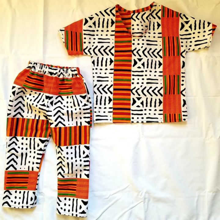 kente outfit for boys