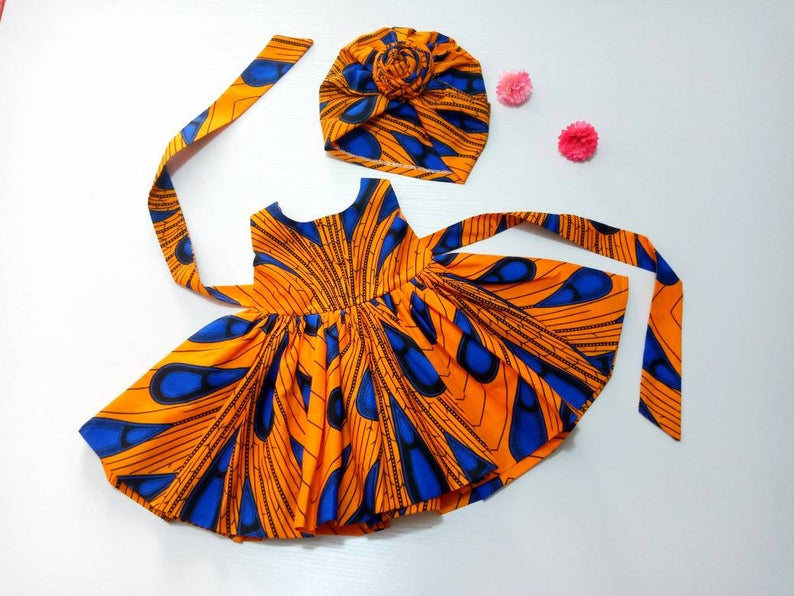 kids ankara dress