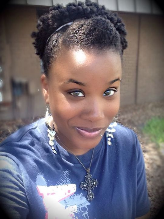 afro puff hairstyles for short hair