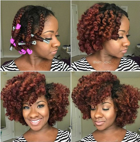 braid out on natural hair - summer hairstyles on 3c hair