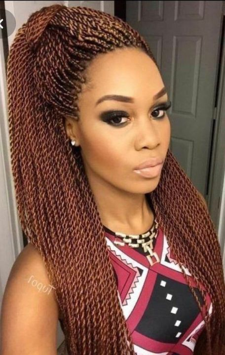 senegalese twists on natural hair