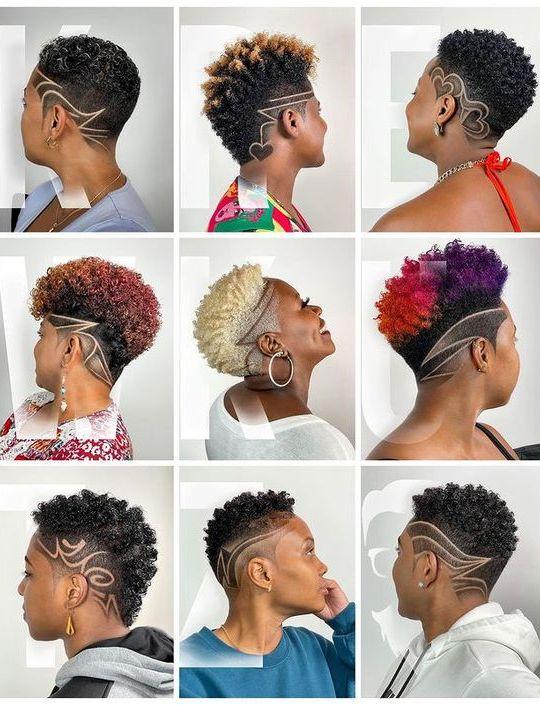 natural hair cut for black women