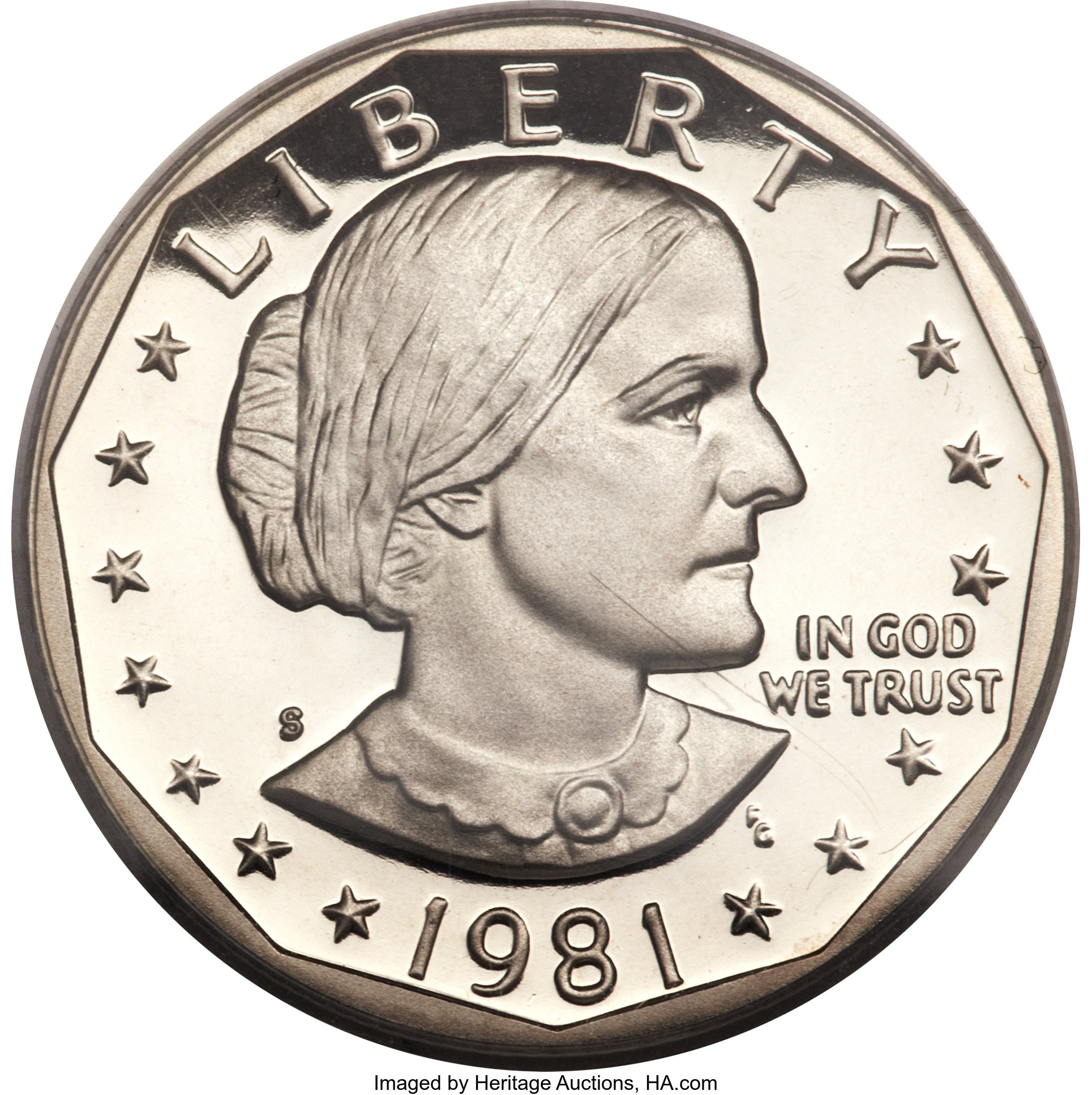 Coinage Profile S Type Ii Susan B Anthony Proof