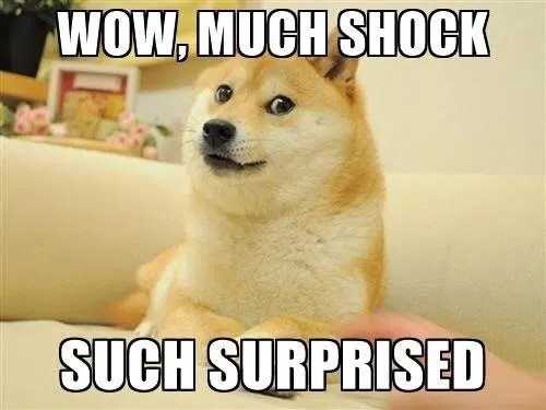 Much Shock Dogecoin