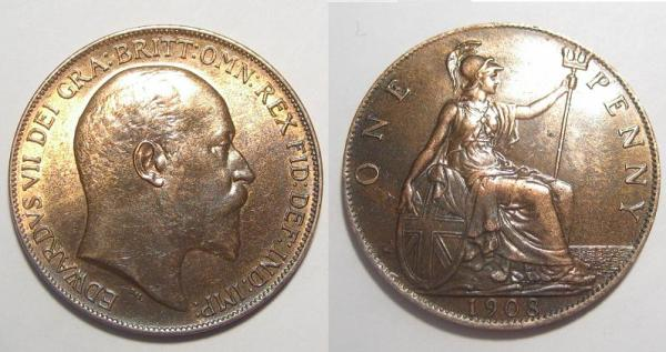 One penny 1908 - Coin Community Forum