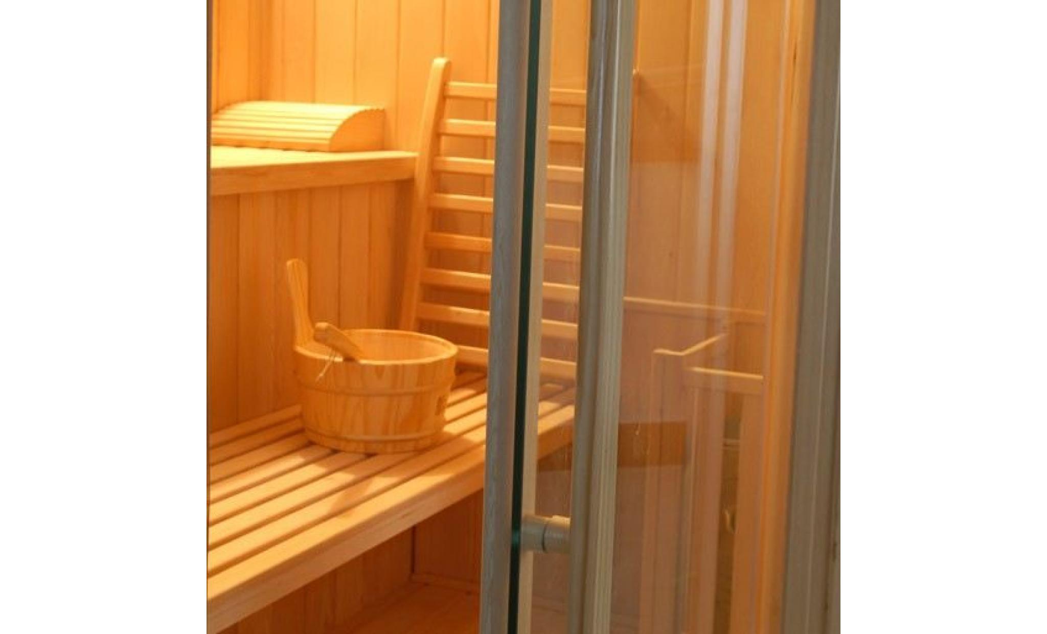 sauna vapeur zen angulaire 3 places achat vente sauna pas cher coindujardin com