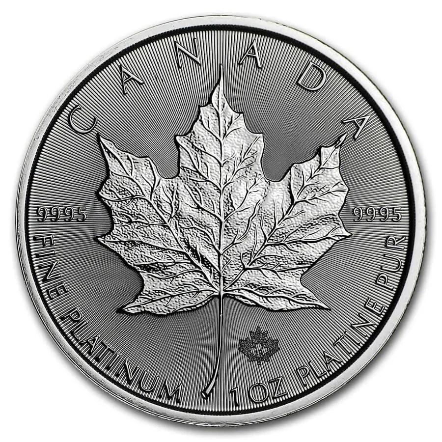 Popular Platinum Bullion Maple
