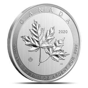 10 oz Canadian Silver Maple Leaf