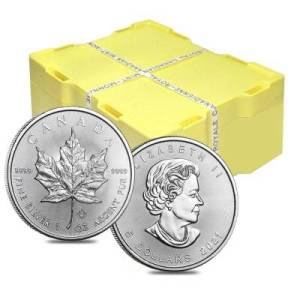 Canadian Silver Maple Leaf Sets
