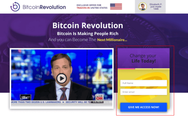 register for bitcoin evolution